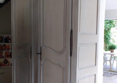 armoire rajeunie